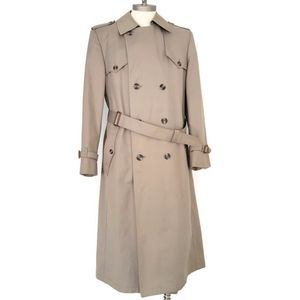 Christian Dior (40 Long) Fully Lined Trench Coat